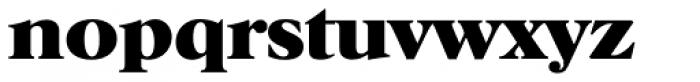 Horsham Serial ExtraBold Font LOWERCASE