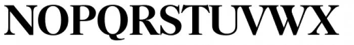 Horsham Serial Medium Font UPPERCASE