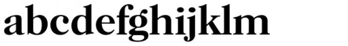 Horsham Serial Medium Font LOWERCASE