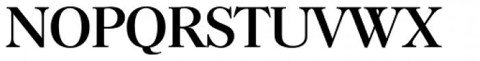 Horsham Serial Font UPPERCASE