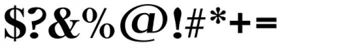 Horsham TS Medium Font OTHER CHARS