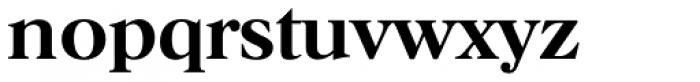 Horsham TS Medium Font LOWERCASE