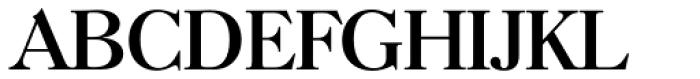 Horsham TS Regular Font UPPERCASE