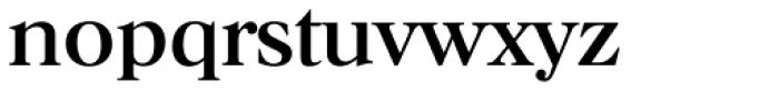 Horsham TS Regular Font LOWERCASE