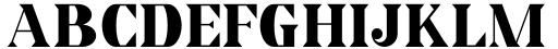 Horst More Black Font UPPERCASE