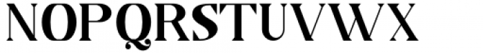 Horst More Demi Bold Font UPPERCASE