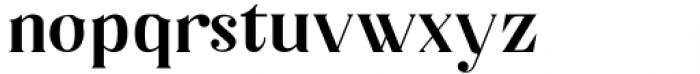 Horst More Demi Bold Font LOWERCASE