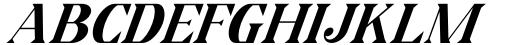 Horst More Italic Bold Font UPPERCASE