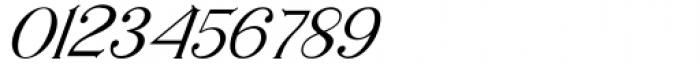 Horst More Italic Light Font OTHER CHARS