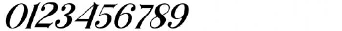Horst More Italic Medium Font OTHER CHARS