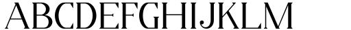 Horst More Light Font UPPERCASE