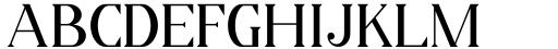 Horst More Regular Font UPPERCASE