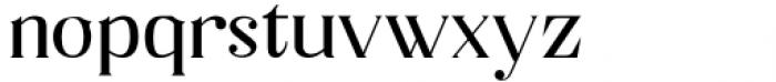 Horst More Regular Font LOWERCASE