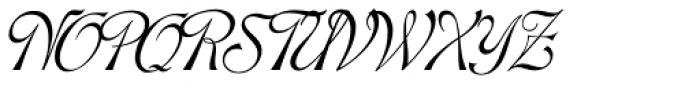 Hortensia Font UPPERCASE