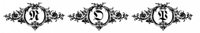 Hostetler Fette Ultfraktur Ornamental Font UPPERCASE