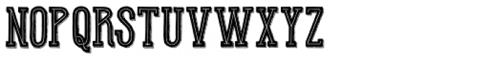 Hot Warrior Team Font UPPERCASE