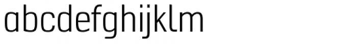 Hotdogger Sans Condensed Font LOWERCASE