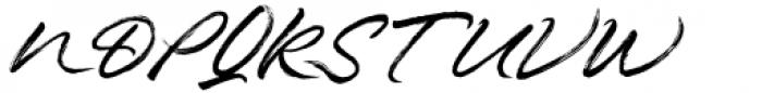 Hothir Regular Font UPPERCASE