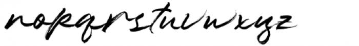 Hothir Regular Font LOWERCASE