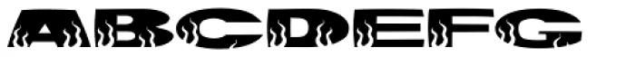 Hotrod Font LOWERCASE
