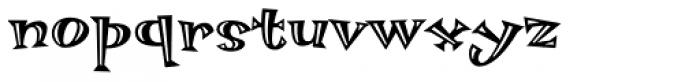 Hotsy Totsy MVB Hi Lite Font LOWERCASE