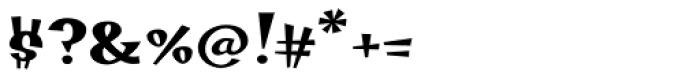 Hotsy Totsy MVB SemiBold Font OTHER CHARS