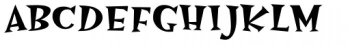 Hotsy Totsy MVB SemiBold Font UPPERCASE