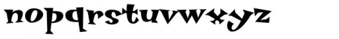 Hotsy Totsy MVB SemiBold Font LOWERCASE
