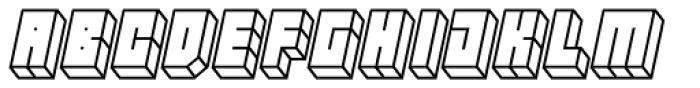 Hounslow Open Italic Font LOWERCASE