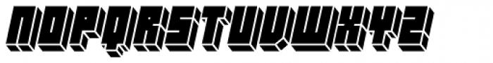 Hounslow Solid Italic Font LOWERCASE