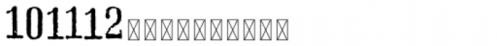 Hours Annex Font LOWERCASE