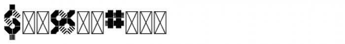 Hours Blastdoor Font OTHER CHARS