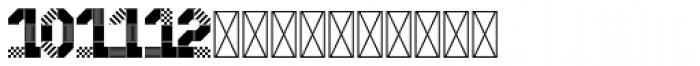 Hours Blastdoor Font UPPERCASE