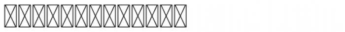 Hours Blastdoor Font LOWERCASE