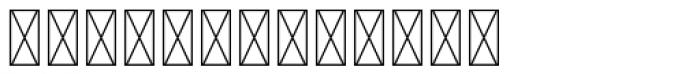 Hours Metropolitan Font LOWERCASE