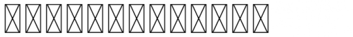 Hours Prestige Font LOWERCASE