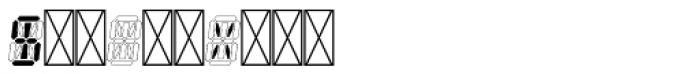 Hours Quartz Font OTHER CHARS