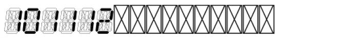 Hours Quartz Font LOWERCASE