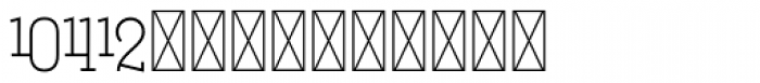 Hours Tricoire Font LOWERCASE