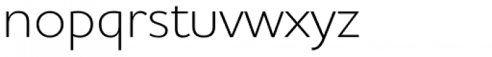 Houschka Alt Pro Light Font LOWERCASE