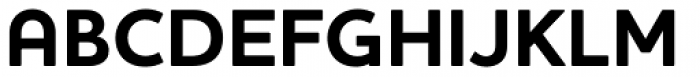 Houschka Pro Bold Font UPPERCASE