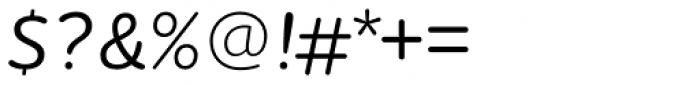 Houschka Rounded Medium Italic Font OTHER CHARS