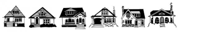 House Doodles Font UPPERCASE