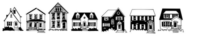 House Doodles Font LOWERCASE