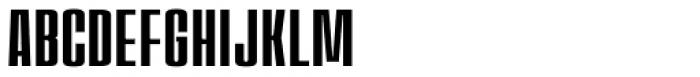 House Sans Compressed Font UPPERCASE