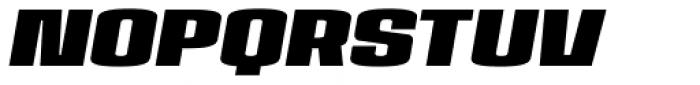 House Sans Narrow Heavy Italic Font UPPERCASE