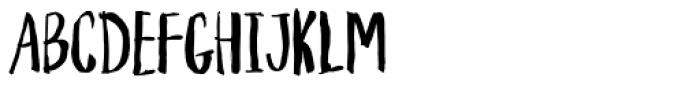 Houseplant Font UPPERCASE