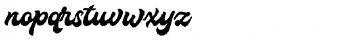 Houstander Font LOWERCASE