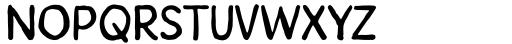 Howli Sans Three Font UPPERCASE