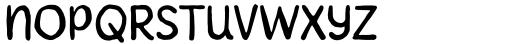 Howli Sans Three Font LOWERCASE